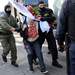 Belarus great-grandmother protest star defies police