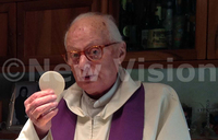 Fr. Scalabrini  to be burried outside Bbiina Catholic Church
