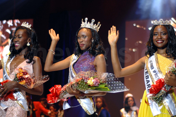 1st runner up ertrude muge halla lma and nita yebare hoto by enis ibele