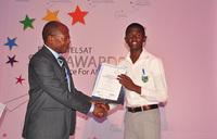Ntare school student tops continent