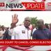 Martin Fayulu wants Congo polls cancelled