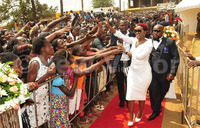 Pastor Bugembe hosts and prays for top Ugandan celebreties