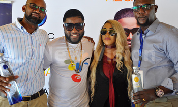Ciroc brand manager roger agambaskales event promoter mz shan and skales manager kollertunz 350x210