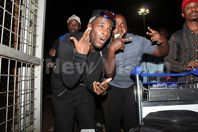 urnaboy arriving for his ampala heraton concert on 23032019