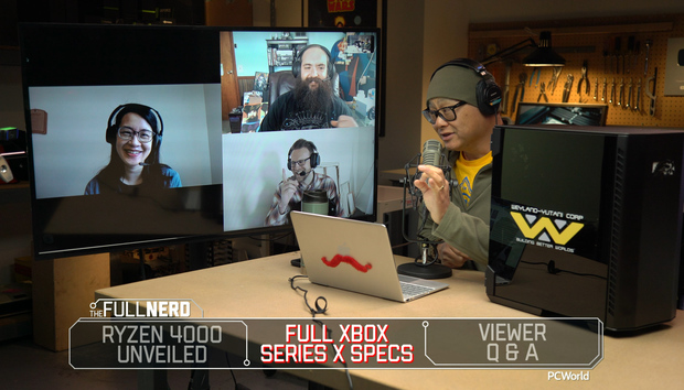 The Full Nerd ep. 129: Ryzen 4000 laptop CPUs in deep detail, Xbox Series X vs. gaming PCs
