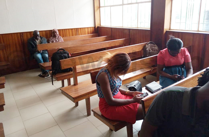 ournalists access to the courtroom was restricted hoto by uth aith akanwagi