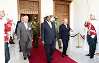 President Museveni begins state visit to Algeria