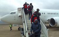 2019 AFCON: Cranes land in Lesotho, set for return leg
