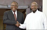 Museveni, Kagame, Ramaphosa discuss DRC