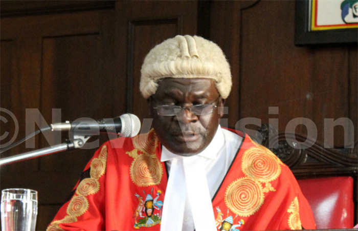 Deputy Chief Justice Alfonse Owiny-Dollo. Photo/File