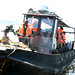 Hauling ill-fated boat from water: Deputy IGP joins team