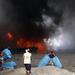 Fire ravages UN food agency warehouse in Yemen