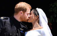 Harry and Meghan marry in emotional wedding
