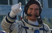 Astronaut Paolo flies to Uganda for technology awards