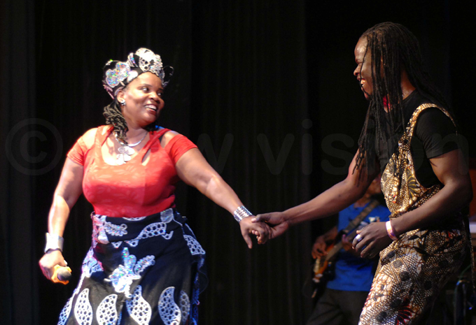 hance alubega and an audience member dance hoto by enis ibele