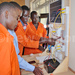 Technicians equipped with solar installation skills