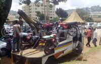 Police impounds 70 boda bodas in operation