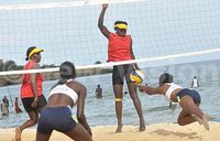 Agaba, Kato return to winning ways at the beach