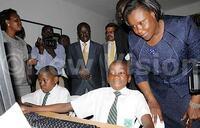 Minister launches ICT hub at Nakasero PS