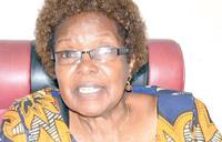 Miria Obote's health improves