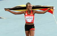 Nanyondo lays down marker with impressive run