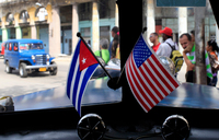 A year on, US, Cuba no longer enemies, but not exactly friends