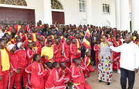 Museveni flags off Team Uganda for FEASSSA Games
