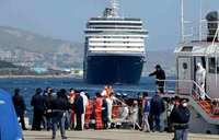 Distress call from 'sinking' boat in Med with 300 people