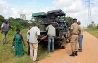 Two suspected Bodaboda robbers hacked, set a blaze