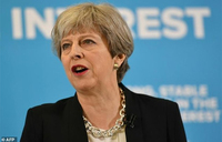 British PM says up to Trump who he shares intelligence with