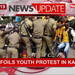 Police foils youth protest in Kampala