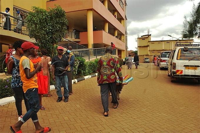 uganga pushing his sister to the treatment  wardhoto by eginah alunga