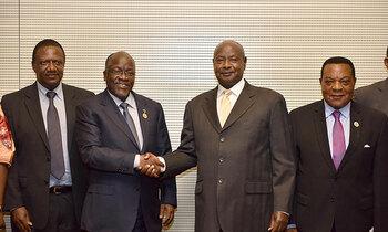 Museveni magufuli 350x210