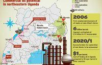 Uganda eyes first oil barrel