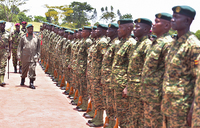 Museveni starts inspection of UPDF units