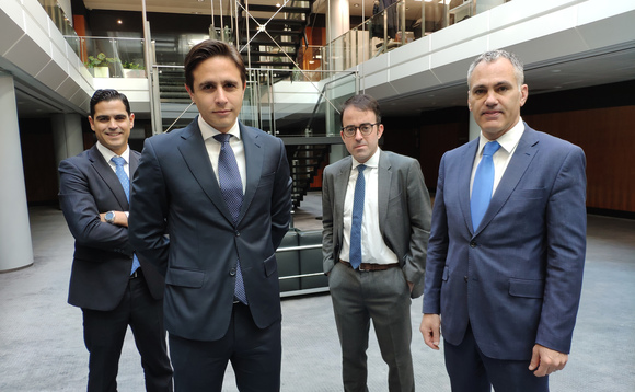 From left to right: Juan Hernando, Lorenzo Casaus, Enric Galí and Oriol Taulats