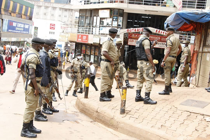oldiers patrolling the streets hotos by enry subuga