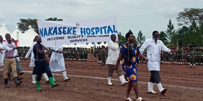 epresantatives of akaseke ospital at the 39th  arehe ita celebrations