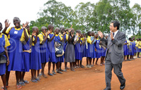 Japan builds sh389m dormitory for Kasese school
