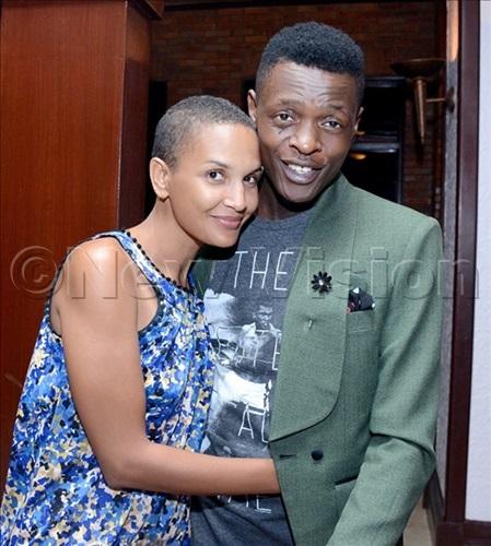 Joseph Mayanja aka Chameleone and wife Daniella.