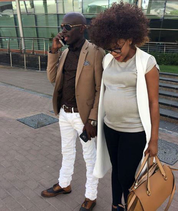 he heavily pregnant irungi with his partner buga