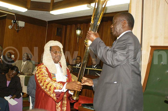 ekandi dward sworn in as speaker of the 8th parliament