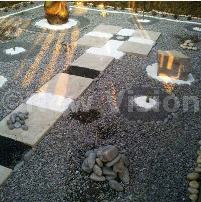 foot massage garden