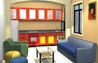 Studio house ideal for bachelors