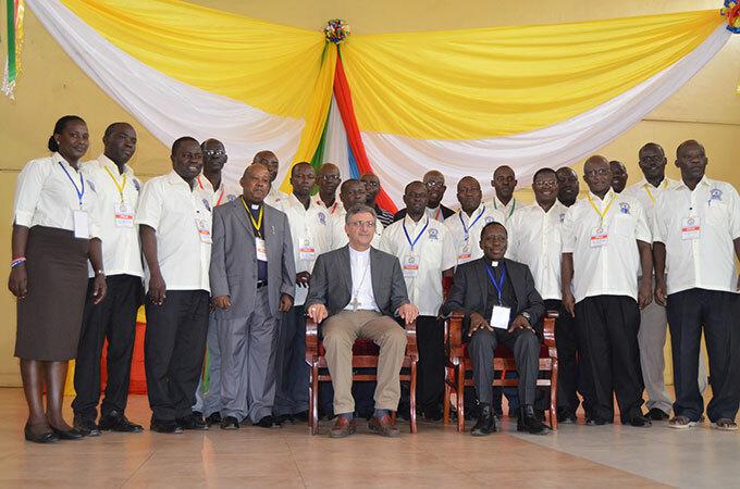 he coordinators of the ontifical ission ocieties