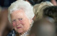 Former US first lady Barbara Bush dies