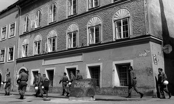 Hitler s birth house 350x210
