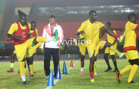 Uganda Cranes team against Senegal is near full strength