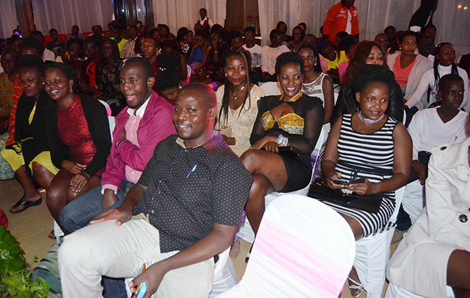 crosssection of the audience enjoying the pageant