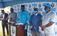FDC starts fundraising for presidential campaigns